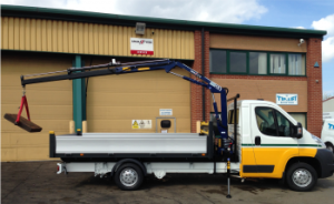 35t crane, chassis and crane experts