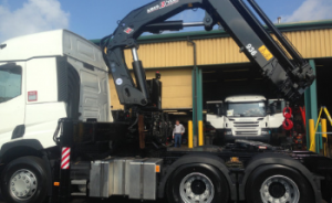 larger units, chassis and crane experts